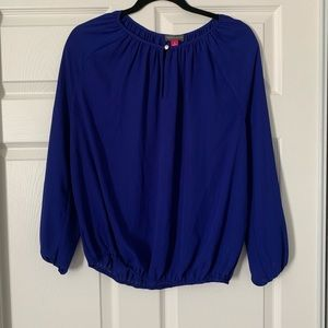 Vince Camuto dark blue blouse in size S